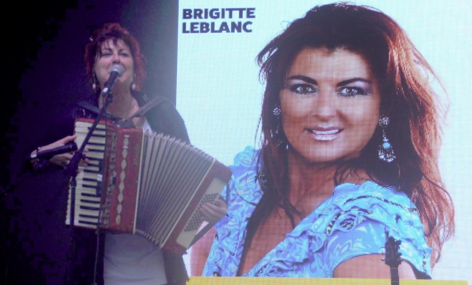 Brigitte Leblanc et sa mission