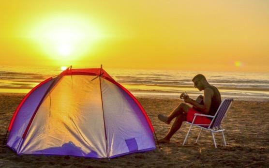 CAMPER SUR UNE PLAGE  DANS LE SUD DE LA FLORIDE ET LES KEYS  Et vivre la nature en direct!