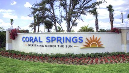 Un vrai  centre-ville à Coral Springs