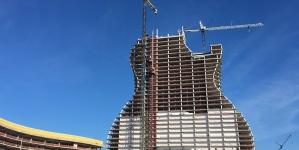 L'hôtel en forme de guitare
