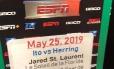 KISSIMMEE, FL – Le Championnat du Monde de boxe est revenu en Floride le 25 mai à l'Osceola Heritage Park.