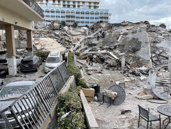 FLORIDE LE 30 JUIN 2021 : EFFONDREMENT JOUR 6 +   HÔTELS ET VACCINS